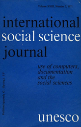 The Processing Of Ethnographic Data Unesco Digital Library