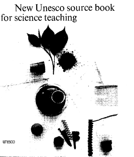 New UNESCO source book for science teaching - UNESCO Digital