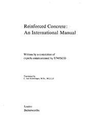 Reinforced concrete: an international manual - UNESCO Digital Library