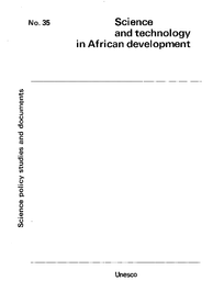 Science And Technology In African Development Unesco