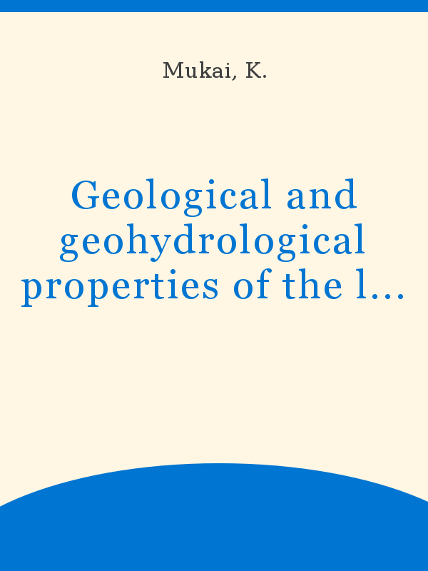 Geological And Geohydrological Properties Of The Land