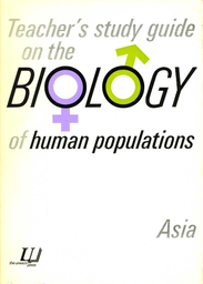 Teacher S Study Guide On The Biology Of Human Populations