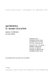 Mathematics in primary education
