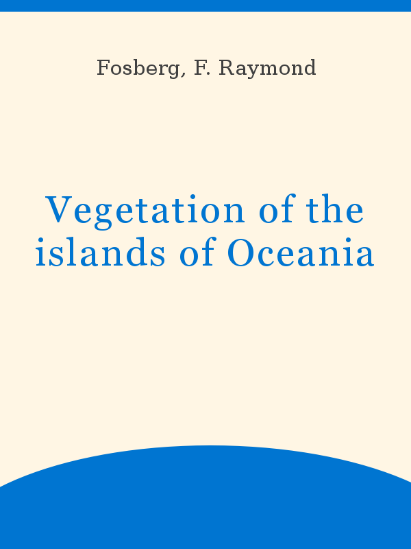 foto de Vegetation of the islands of Oceania - UNESCO Digital Library
