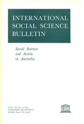 Population studies in policy in Australia - UNESCO Digital
