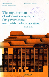 The Organization Of Information Systems For Government And Public