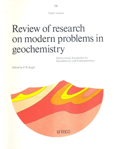 Review Of Research On Modern Problems In Geochemistry Unesco Digital Library