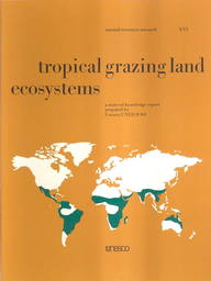 Tropical Grazing Land Ecosystems A State Of Knowledge