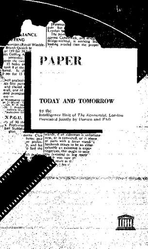 Paper For Printing Today And Tomorrow