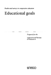 Goals and theories of education current world situation