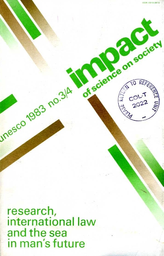 Impact Of Science On Society Xxxiii 3 4 Unesco Digital