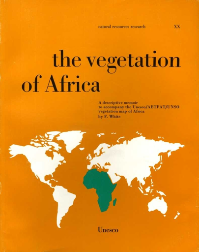 Map Of Africa Vegetation.The Vegetation Of Africa A Descriptive Memoir To Accompany The