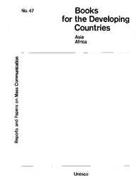 Books For The Developing Countries Asia Africa Unesco Digital