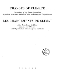 Proceedings Of The Rome Symposium Unesco Digital Library