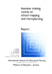 Intensive Training Course on School Mapping and ...