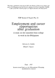 employment and career opportunities after graduation a study on the  notice header