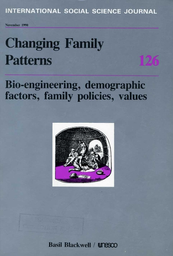changing family patterns