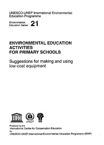 Environmental Education Activities For Primary Schools Suggestions