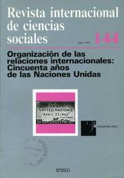 éxitos Y Debilidades De La Reciente Acción De Naciones