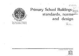 Primary school buildings: standards, norms and design - UNESCO