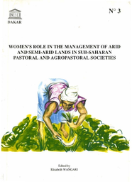 Women's role in the management of arid and semi-arid lands