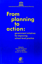 From Planning To Action Government Initiatives For