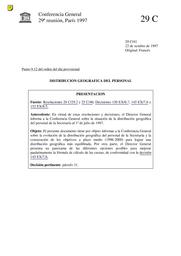 Distribución Geográfica Del Personal Unesco Digital Library