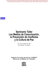 Seminario Taller Los Medios De Comunicación La Prevención
