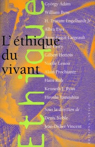 L Ethique Du Vivant Unesco Digital Library