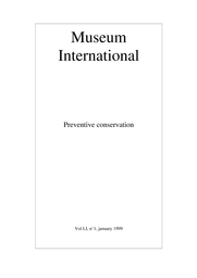 A Strategy For Preventive Conservation Training Unesco