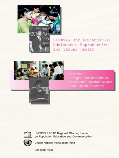 Handbook for educating on adolescent reproductive and sexual