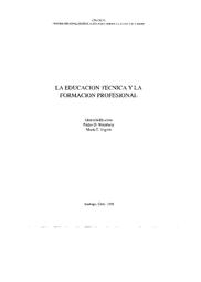 La Educación Técnica Y La Formación Profesional Unesco
