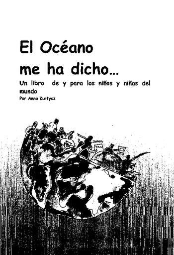 El Océano me ha dicho: un libro de y para los niños y niñas del ...