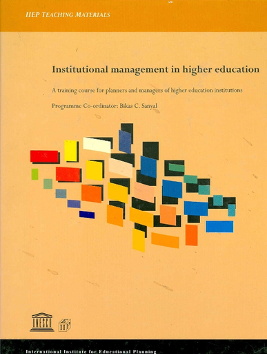 Institutional management in higher education: a training