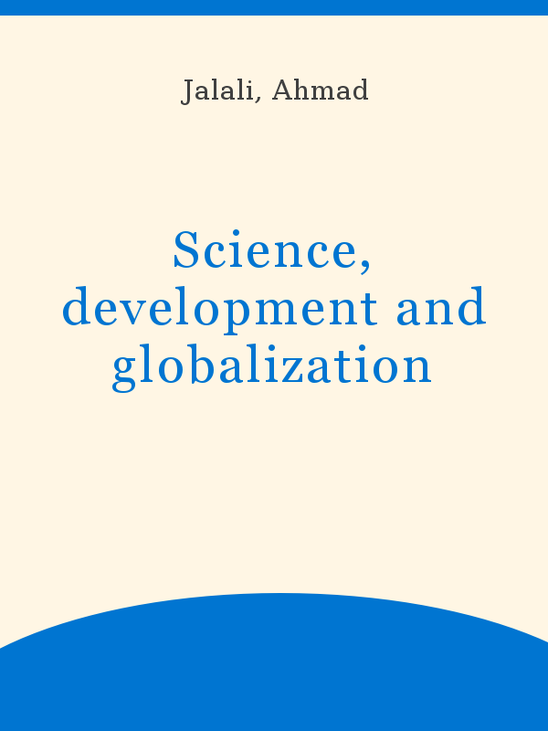 Science, development and globalization - UNESCO Digital Library
