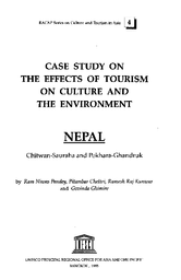 Case Study On The Effects Of Tourism On Culture And The