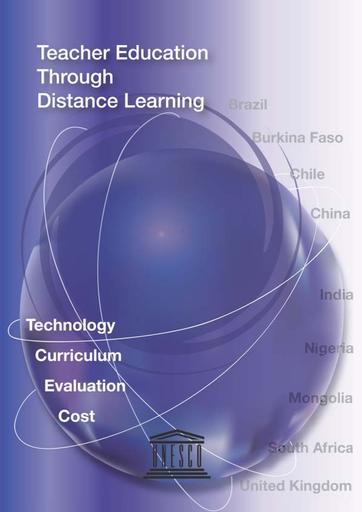 Teacher education through distance learning: technology