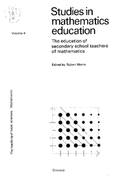 Studies in mathematics education, v  4: The Education of