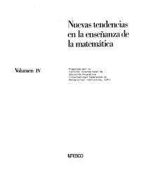 Nuevas Tendencias En La Enseñanza De La Matemática V 4
