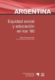 Argentina Equidad Social Y Educación En Los Años 90