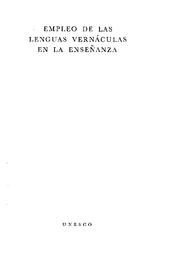 Empleo De Las Lenguas Vernáculas En La Enseñanza Unesco