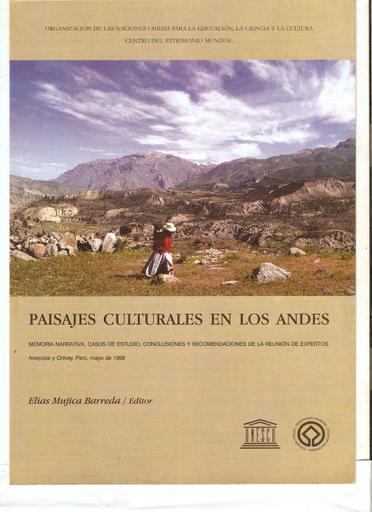 Paisajes Culturales En Los Andes Memoria Narrativa Casos