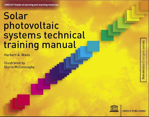 Solar Photovoltaic Systems Technical Training Manual Unesco Toolkit Of Learning And Teaching Materials Unesco Digital Library
