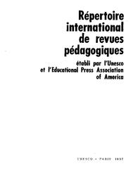 foto de Répertoire international de revues pédagogiques - UNESCO Digital ...