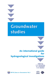Groundwater studies: an international guide for