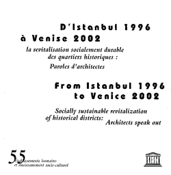 From Istanbul 1996 To Venice 2002 Socially Sustainable