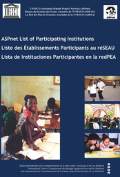 Aspnet List Of Participating Institutions Unesco Digital