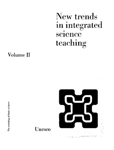 New trends in integrated science teaching, v 2 - UNESCO Digital Library