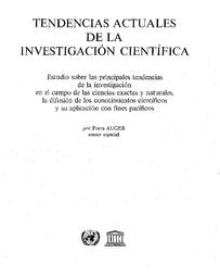 Tendencias Actuales De La Investigación Científica Estudio