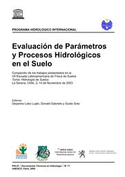 Evaluación De Parámetros Y Procesos Hidrológicos En El Suelo